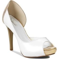 bialo-zlote buty