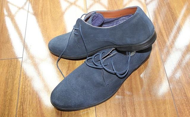 Buty męskie zamszowe