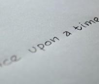 kartka długopis napis pisarz