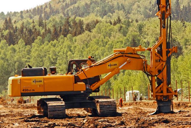 Maszyna do zagęszczania gruntu