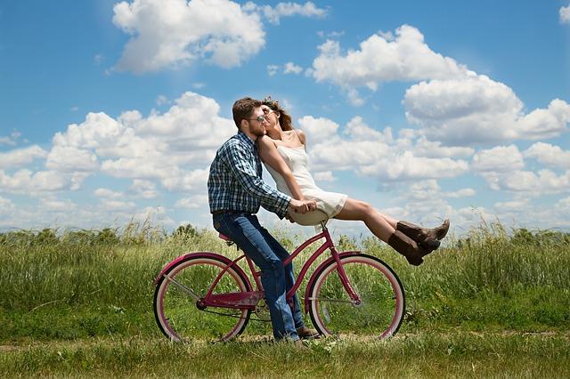 zakochani na no rowerze