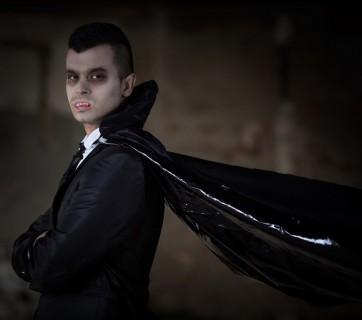 przebranie za wampira