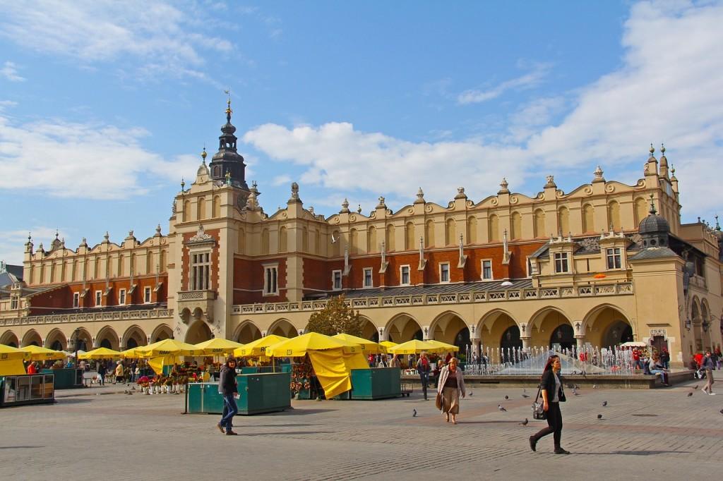 Krakow- Sukiennice