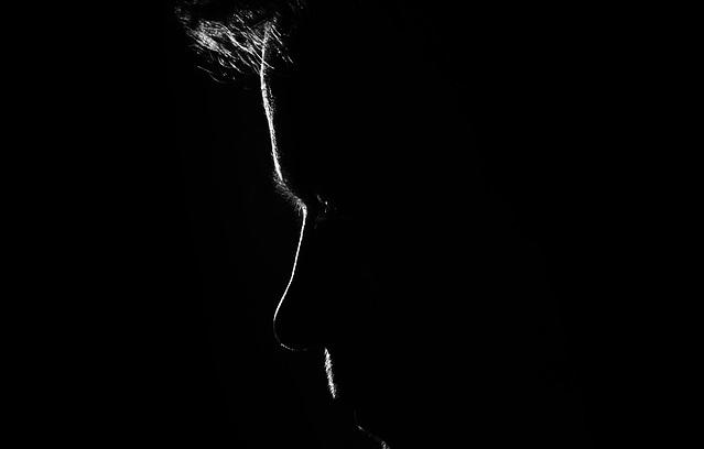 Zarys twarzy człowieka