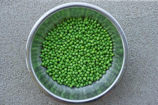 Zielony groch