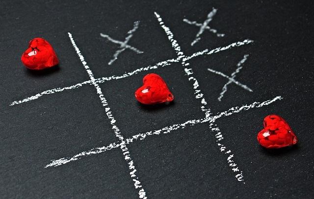 kółko i krzyżyk miłości