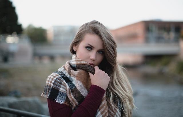 ładna kobieta