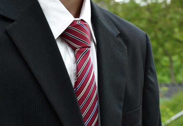 marynarka i krawat
