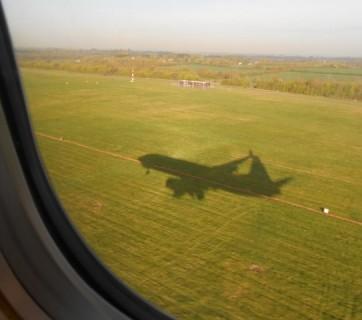samolot podczas startu