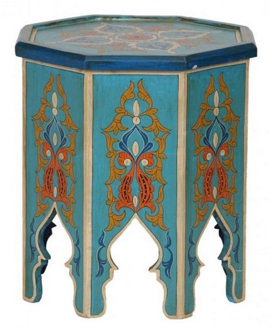 Stolik w stylu orientalnym