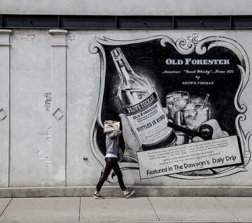 reklama na ścianie