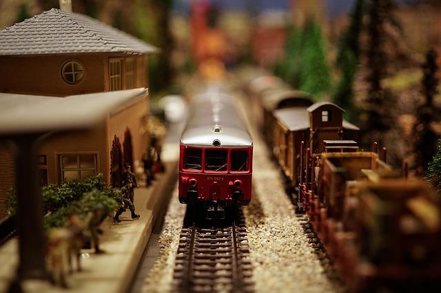 makieta pociągu