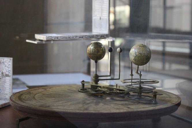wystawa w planetarium