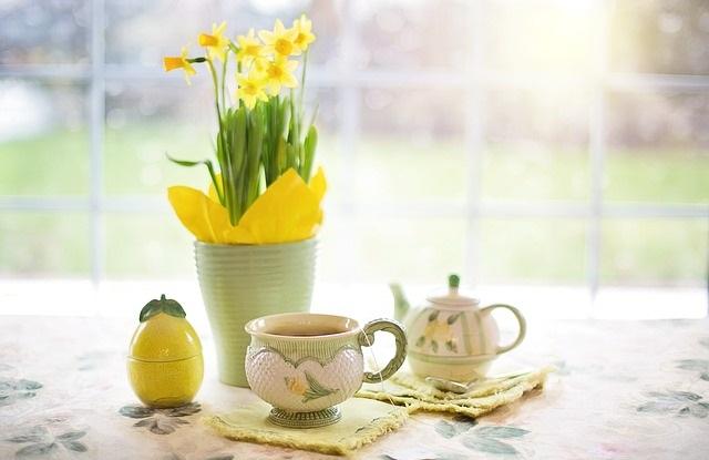 Wielkanocne dekoracje kwiaty