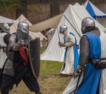 walka rycerzy
