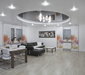 sufit podwieszany w mieszkaniu