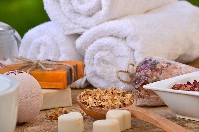 Ręczniki i naturalne mydła
