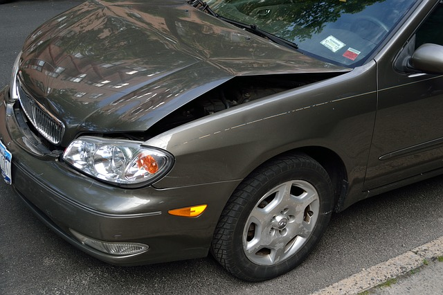 auto po kolizji