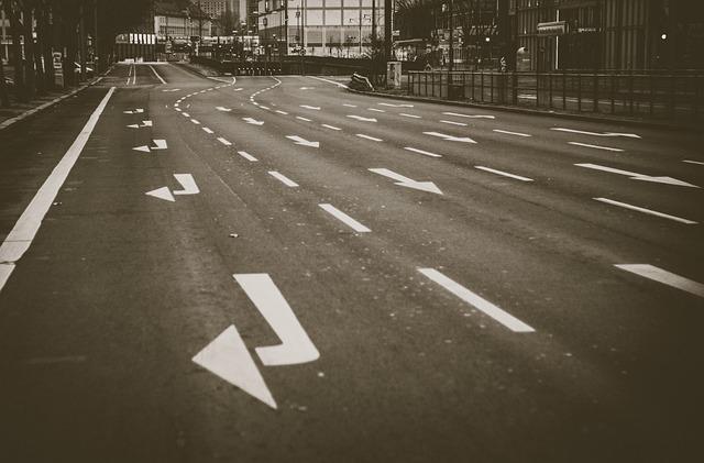 Oznakowanie poziome dróg